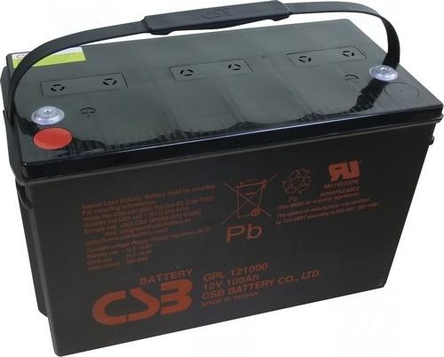 akumulátor CSB GPL121000 (12V/100Ah)