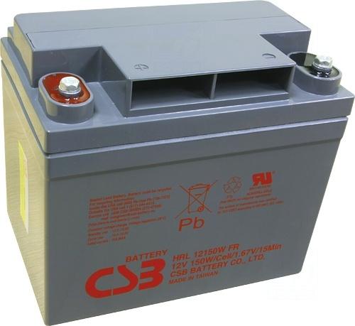 akumulátor CSB HRL12150W (12V/150W/15min.)
