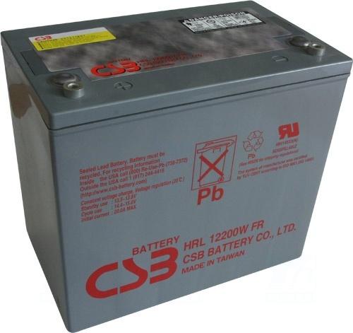 akumulátor CSB HRL12200WF2 FR (12V/50Ah)