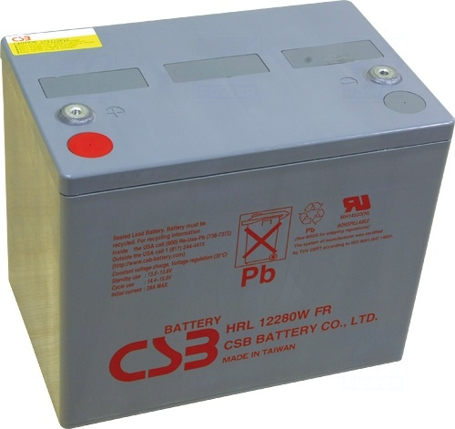 akumulátor CSB HRL12280W/FR (12V/75Ah)