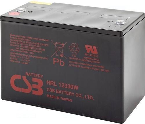 akumulátor CSB HRL12330W (12V/88Ah)