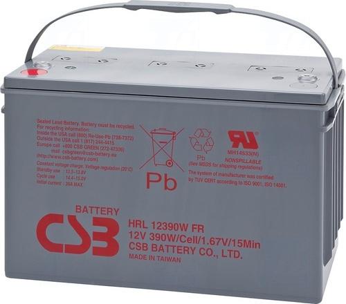 akumulátor CSB HRL12390W (12V/100Ah)