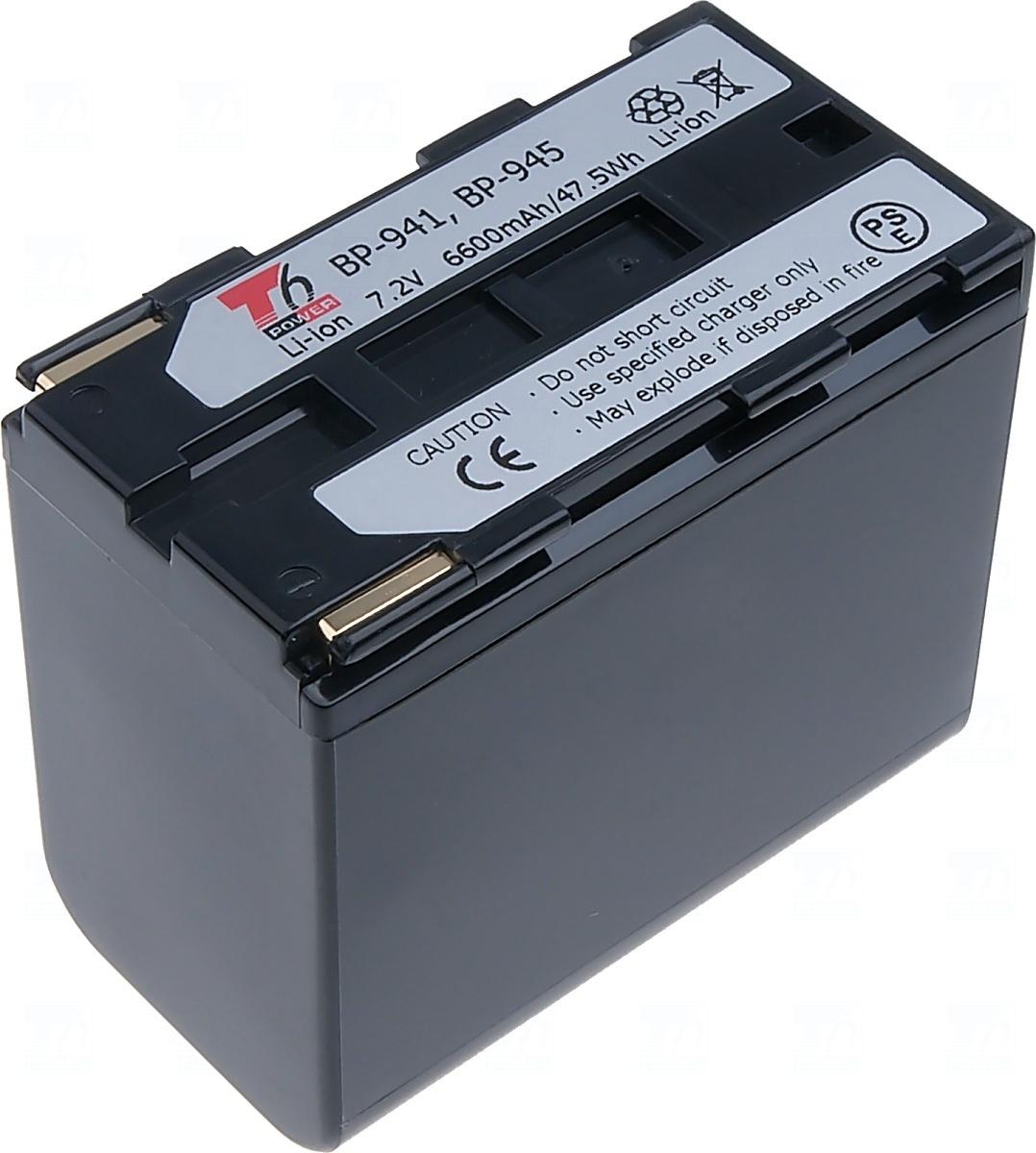 Baterie T6 power BP-941, BP-945, BP-911, BP-911K, BP-914, BP-915, BP-924, BP-925, BP-927, BP-930, BP-930E, BP-930R, BP-950, BP-955