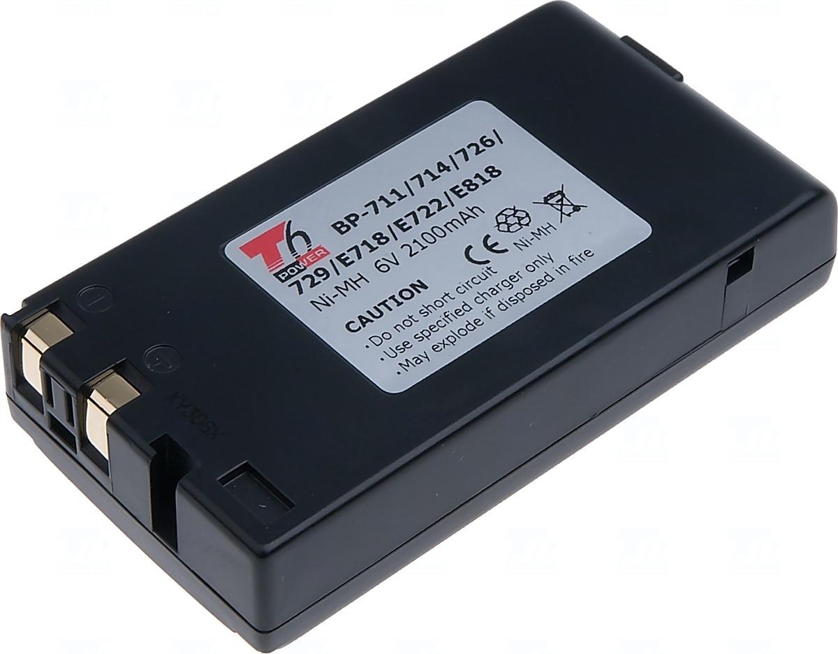 Baterie T6 power BP-714, BP-711, DR12, BP-818, BP-E718, BP-E722, BP-726, BP-E818, BPE77, BP-E77K