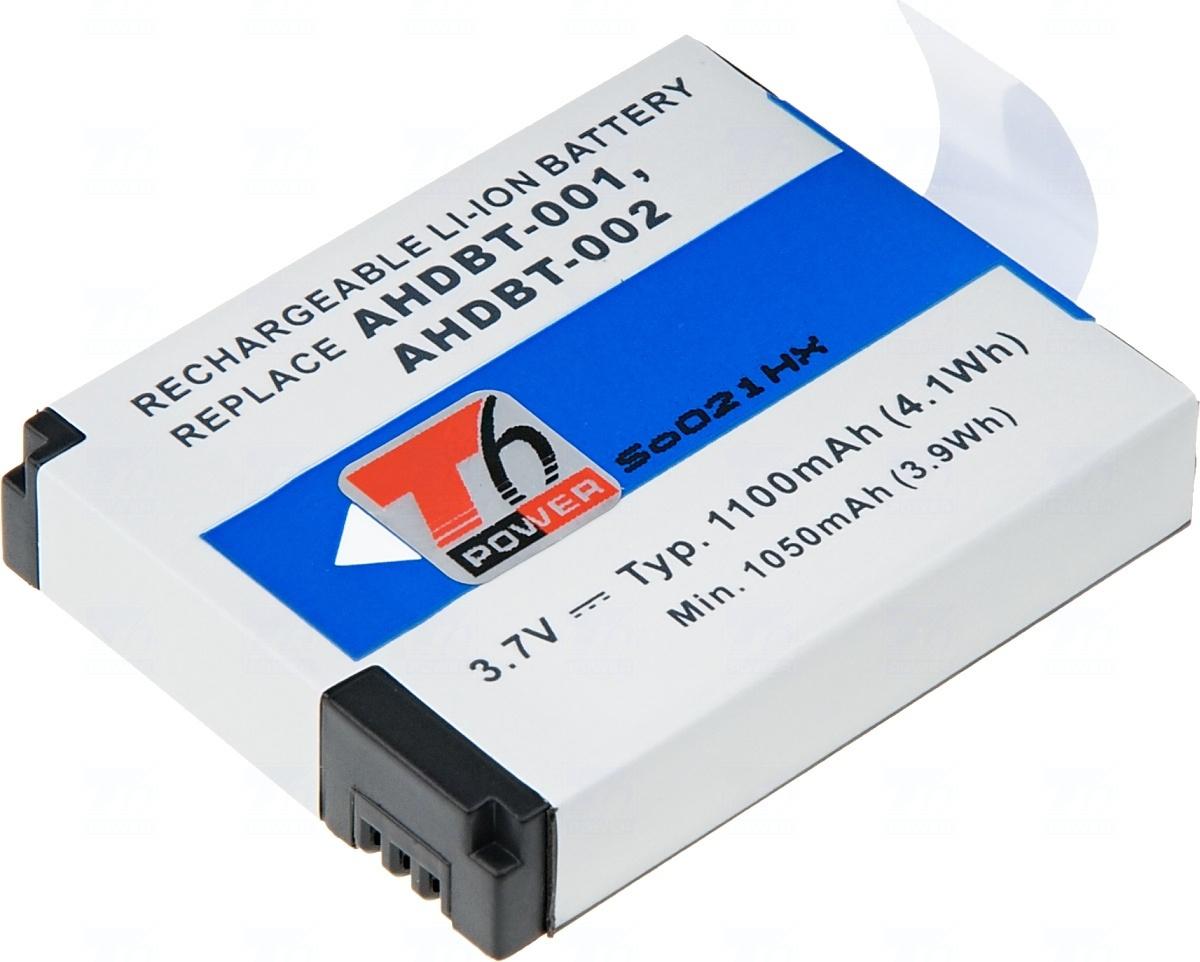 Baterie T6 power AHDBT-001, AHDBT-002