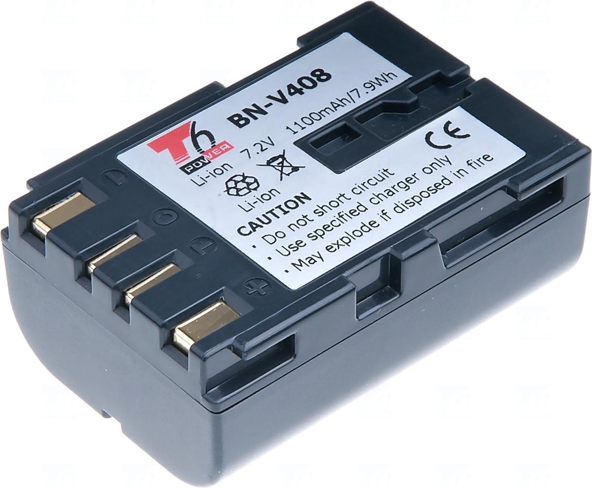 Baterie T6 power BN-V408, BN-V408-H, BN-V408U, šedá