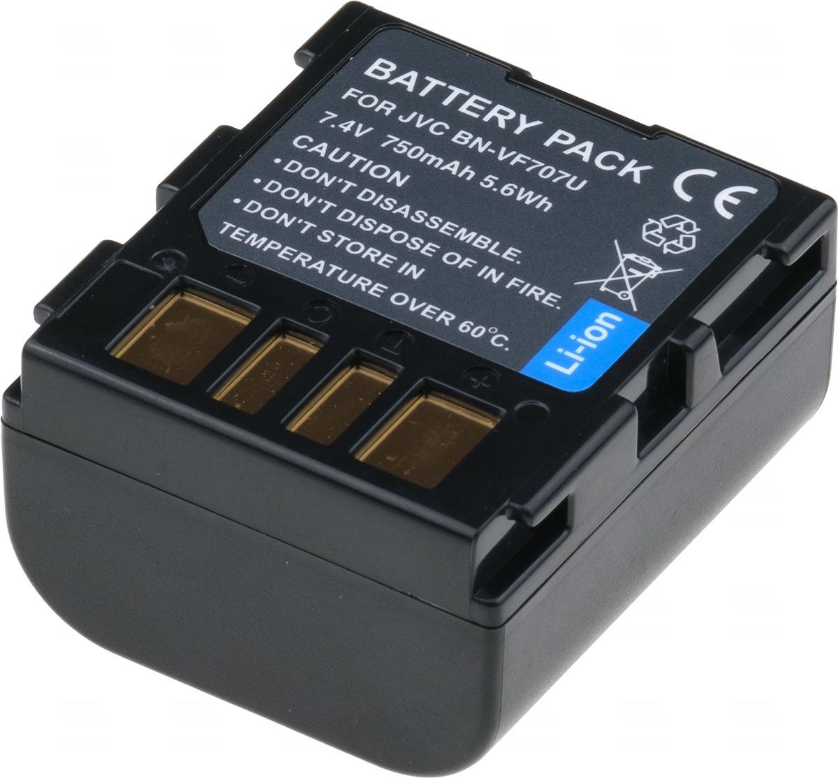 Baterie T6 Power BN-VF707U, BN-VF707, BN-VF707US, LY34647-002B
