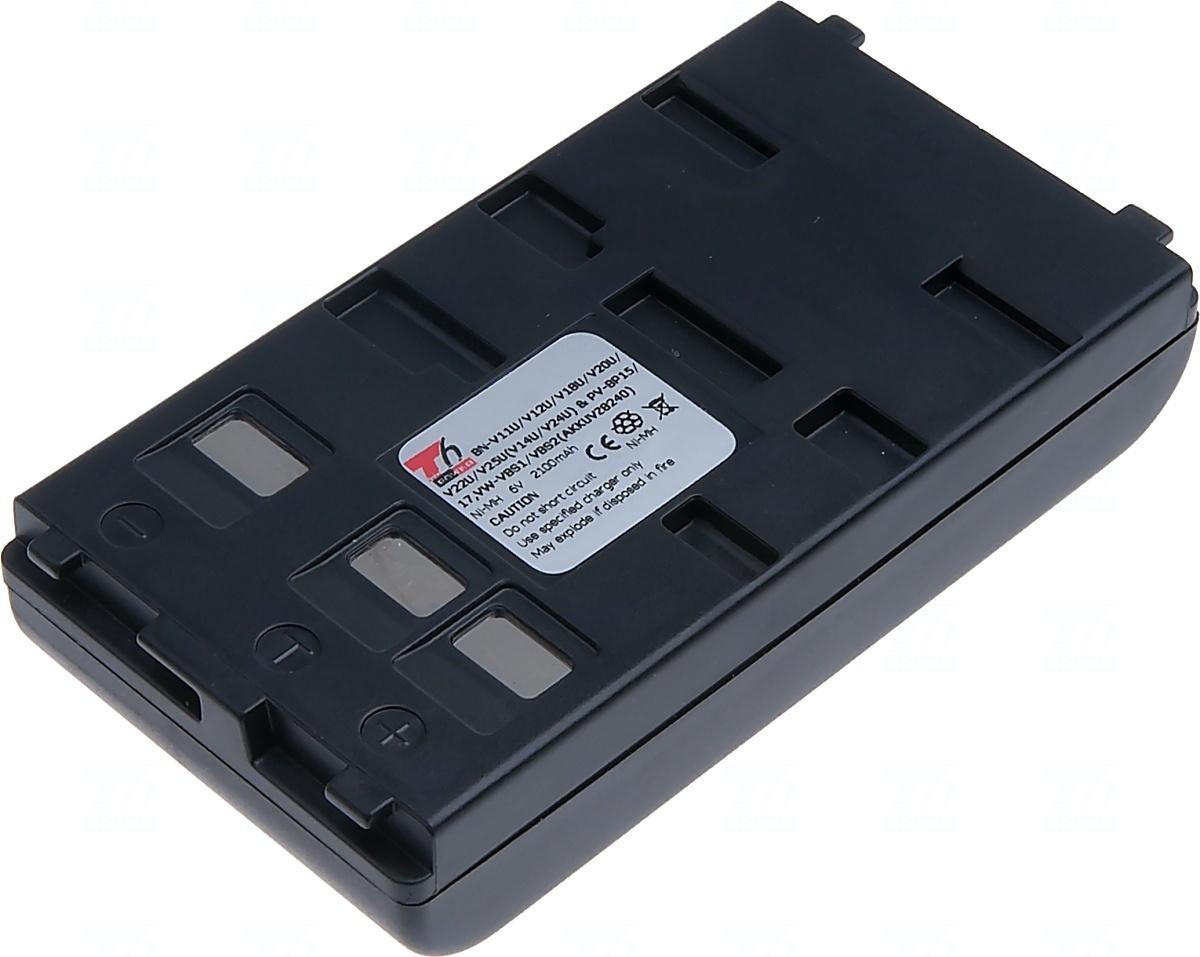 Baterie T6 power BN-V11U, BN-V12U, BN-V14U, BN-V18U, BN-V20U, BN-V22U, BN-V24U, BN-V25U, PV-BP15, PV-BP17, VW-VBS1, VW-VBS2, BN-V12, BN-V25, BN-V15