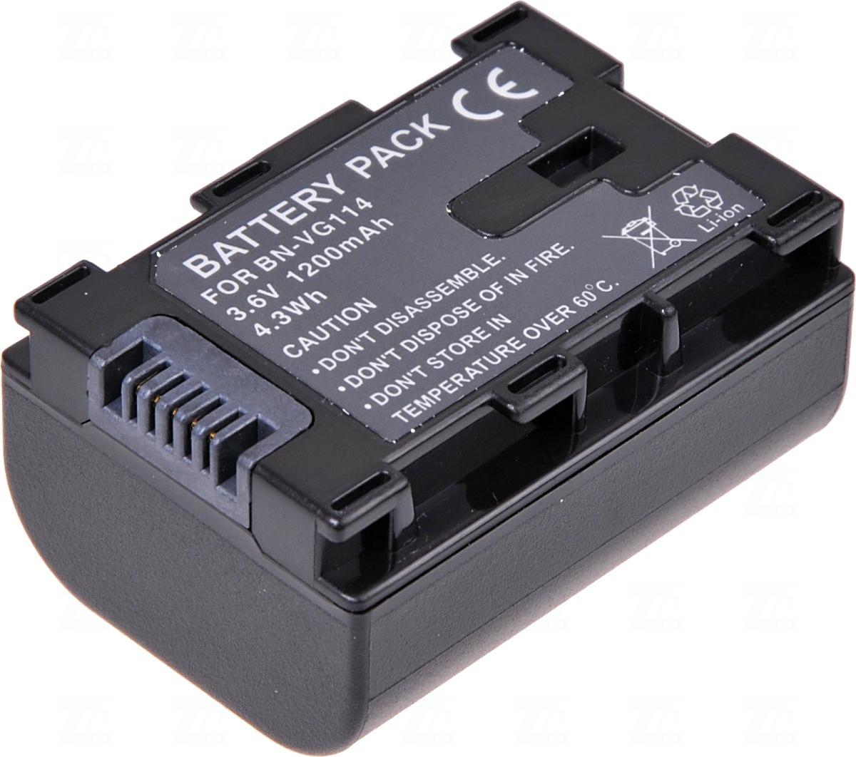 Baterie T6 power BN-VG107, BN-VG114, BN-VG107E, BN-VG107U, BN-VG114E, BN-VG114U, BN-VG108E, BN-VG108U