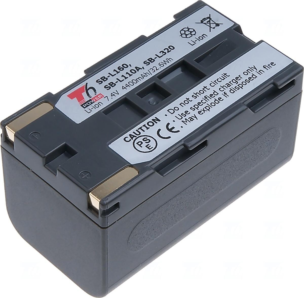 Baterie T6 power SB-L160, SB-L110A, SB-L320, šedá