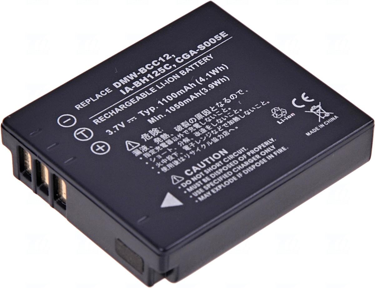 Baterie T6 power IA-BH125C, DMW-BCC12, CGA-S005, CGA-S005A, CGA-S005A/1B, CGA-S005E, CGA-S005E/1B, NP-70, BP-DC4, BP-DC4-E, BP-DC4-J, DB-60, D-Li106, BP-41