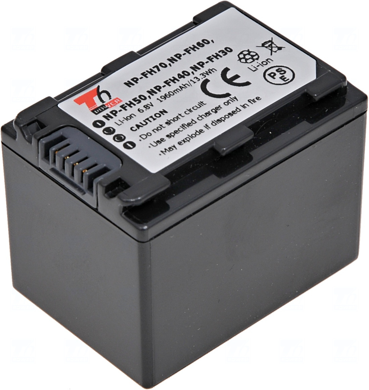 Baterie T6 power NP-FH30, NP-FH40, NP-FH50, NP-FH60, NP-FH70
