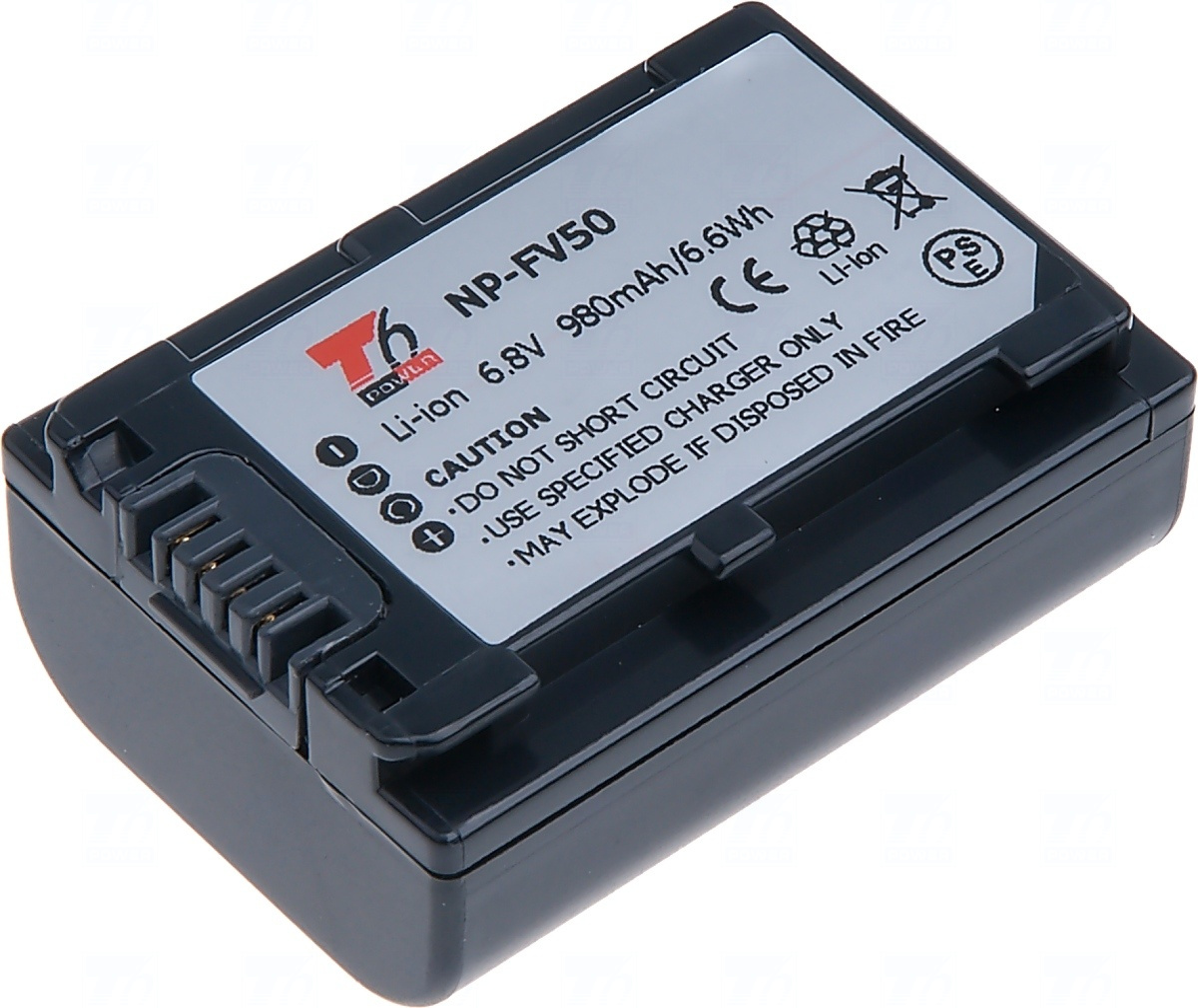 Baterie T6 power NP-FV50, NP-FV30